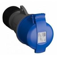ABB Easy&Safe Розетка кабельная 232EC6,32А,2P+E,IP44,6ч