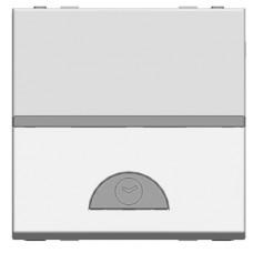 ABB NIE Zenit Серебро Электронный выключатель на МОПТ с таймером 10 сек-10 мин.,40-500 Вт,2 мод