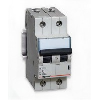 Legrand TX3 Автоматический выключатель 2P 6A (С) 6000/10kA