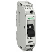 SE GV2 Автоматический выключатель с комбинированным расцепителем 1P 12А (GB2CB20)