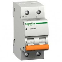 SE Домовой ВА63 Автоматический выключатель 1P+N 6A (C) 4.5kA