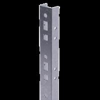 DKC Профиль прямолинейный, L1000, толщ.2,5 мм, на 8 рожков, цинк-ламель