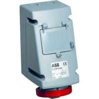 ABB RPR Розетка с УЗО 316RPR6W, 16А, 3Р+Е, IP67, 6ч