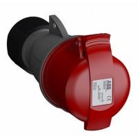 ABB Easy&Safe Розетка кабельная 432EC6,32А,3P+N+E,IP44,6ч