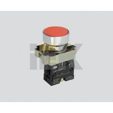 IEK Кнопка управления LAY5-BA61 без подсветки синяя 1з