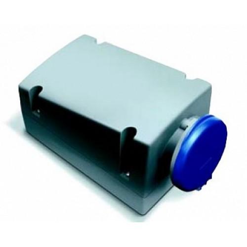 ABB RL Розетка для монтажа на поверхность с подключением шлейфа 216RL12, 16A, 2P+E, IP44, 12ч
