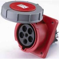 DEKraft РЩ-102 Розетка для скрытой проводки 435 3Р+РЕ+N 63А 380В IP67