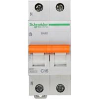 SE Домовой ВА63 Автоматический выключатель 1P+N 16A (C) 4.5kA