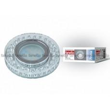 Uniel Fametto Peonia Светильник без лампы, GU5.3. хром/стекло/прозрачный