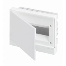 ABB Basic E Бокс в нишу 12М белая непрозрачная дверь (c клеммами) Образец