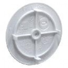 PE Крышка для монтажной коробки PE 030 040 белая