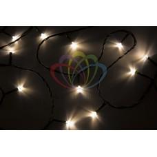 "NEON-NIGHT Гирлянда ""Твинкл Лайт"" 4 м, темно-зеленый ПВХ, 25 LED, цвет теплый белый"