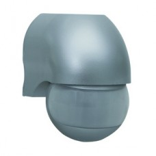 Duewi Серебро Датчик ИК Control-Luchs 180о, до 12 м, 1000W, IP44 (rev 75180703)