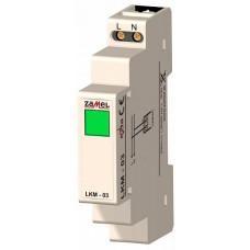 Zamel Сигнализатор световой зеленый 230VAC IP20 на DIN рейку