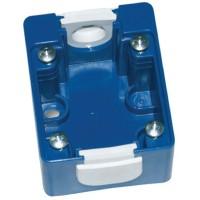 DKC Коробка монтажная для розетки встраиваемой. Голубая. IP44