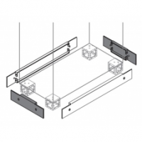ABB Цоколь для шкафов SRX 600х300х100мм