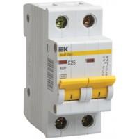 IEK Автоматический выключатель ВА47-29М 2P 20A 4,5кА х-ка D