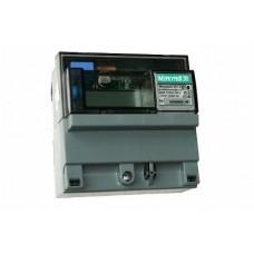 Меркурий Электросчетчик 201.2 на DIN-рейку 5-50А/220В 1Ф 1т. ЖКИ