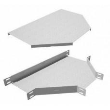 Крышка на тройник для кабельного лотка КМ-Профиль