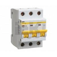 IEK Автоматический выключатель ВА47-29М 3P 2A 4,5кА х-ка D