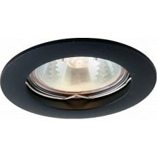 Arte Lamp Basic Черный Светильник точечный встаиваемый 1x50W 1xGU10