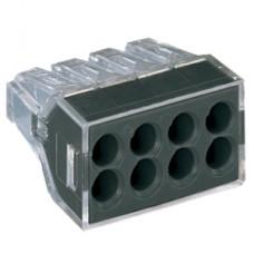 WAGO Клемма с пастой для 8-и медных/алюмин. однопроволочных проводников сеч. до 2,5 мм кв.