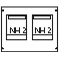 ABB Пластрон для 2 NH2 2ряда/3 рейки