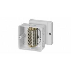 RD 9041 Коробка распред с 10-ю клеммами 4 кв мм без сальников 98x98x61 IP65