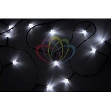 "NEON-NIGHT Гирлянда ""Твинкл Лайт"" 4 м, темно-зеленый ПВХ, 25 LED, цвет белый"