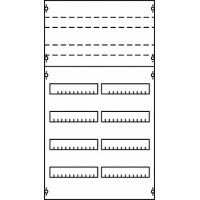 ABB Панель под установку мод. устройств 2ряда/4рейки+2ряд/3рейки h==1050 без прорези