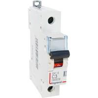 Legrand DX3-E Автоматический выключатель 1P 3А (С) 6000/6kA