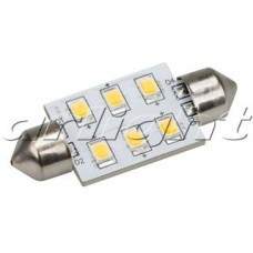 Arlight Автолампа ARL-F37-6E Warm White (10-30V, 6 LED 2835)