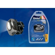 Uniel Стандарт «Bright eyes - comfort max» Фонарь LED (налобный фонарь), алюминиевый корпус