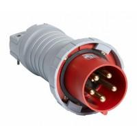 ABB P Вилка кабельная 4125P9W, 125А, 3P+N+E, IP67, 9ч