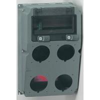 Legrand Hypra Сборный щиток с отверстиями для 4 разъёмов 16-32 А с рейкой DIN 370x230x181 мм