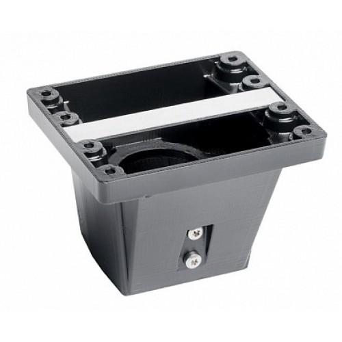ABB Адаптер CWC1 для установки корпуса шкафов на трубу 60 мм, серый, алюминий