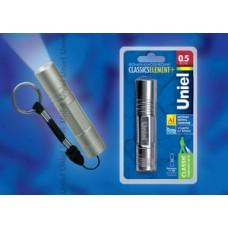 Uniel Стандарт «Classics element +» Серебро Фонарь LED алюминиевый корпус, 0,5 Watt Led