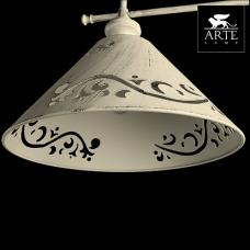 Arte Lamp Kensington Белый Торшер 60W E27