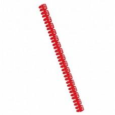 Legrand CAB3 Маркер для кабеля и клемм.блоков 2 0.5-1.5кв.мм. (красный) (упаковка)
