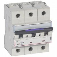 Legrand DX3 Автоматический выключатель 50кА 10А 3P C