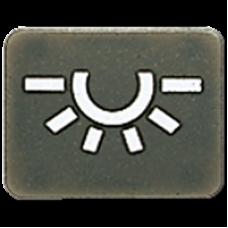 JUNG KNX Черный Символ лампочки