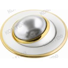 Comtech Corona Светильник встраиваемый повор. R39 1x40W E14 золото/никель/золото