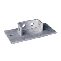 DKC Крепление к потолку для для двойного С-образного профиля 41х41, горячеоцинкованное