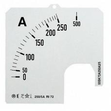 ABB SCL Шкала для амперметра SCL 1/A5/50