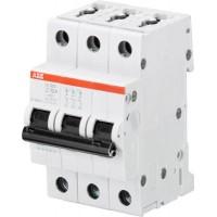ABB S203 Автоматический выключатель 3P 3А (Z) 6кА