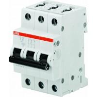 ABB S203M Автоматический выключатель 3P 6А (B) 10kA