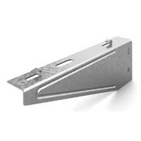 OSTEC Кронштейн настенный для проволочного лотка безвинтовой 100 мм