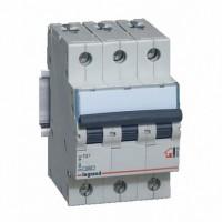 Legrand TX3 Автоматический выключатель 3P 6A (B) 6000
