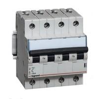 Legrand TX3 Автоматический выключатель 4P 32A (С) 6000/10kA