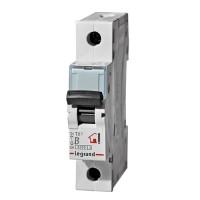 Legrand TX3 Автоматический выключатель 1P 10A (B) 6000